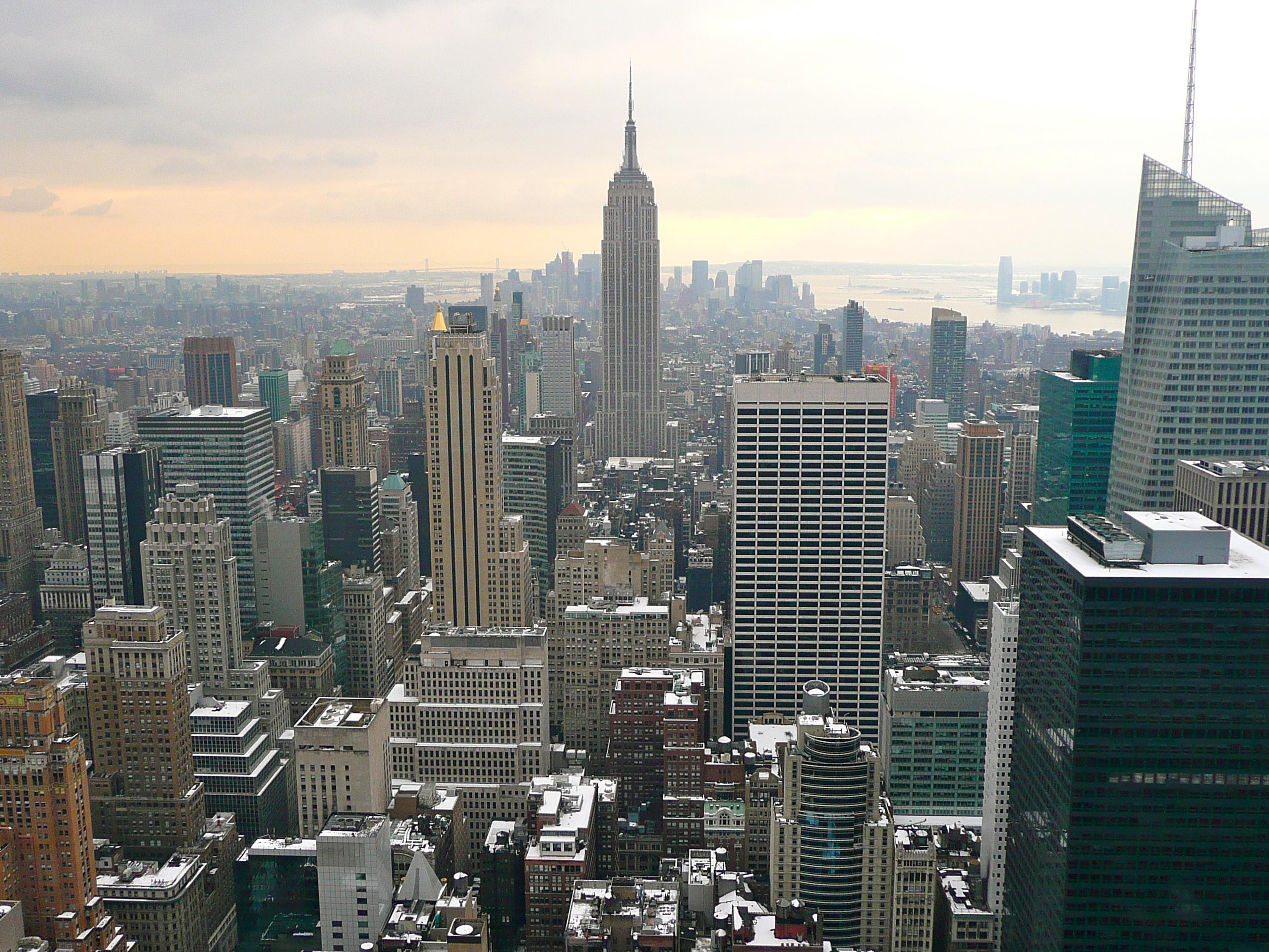Empire State Building Ou Rockfeller