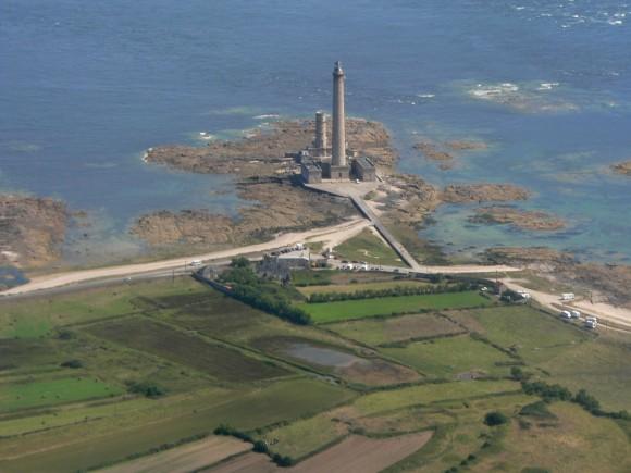 Le phare de Gatteville dans la Manche