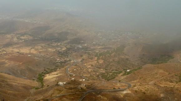 Vue du Monte Verde, sur Sao Vicente (Cap-Vert)