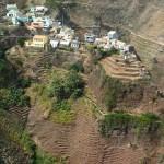Le village de Fontainhas, sur l'ile de Santo Antao, Cap-Vert