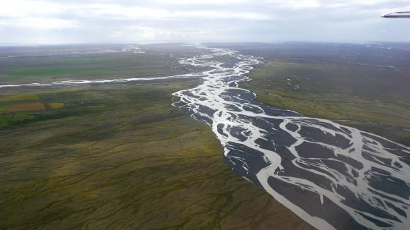Près de Skaftafell, en Islande.