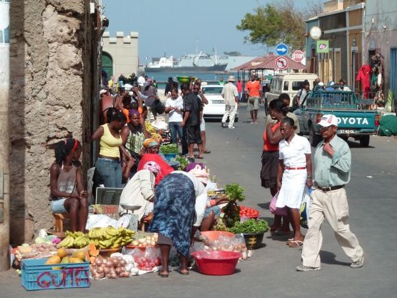 Mindelo, Sao Vicente, au Cap-Vert