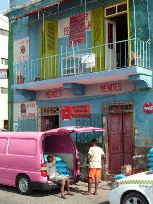 Rue de Mindelo, Sao Vicente (Cap-Vert)