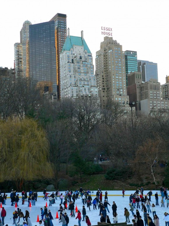 Wollman rink à Central Park