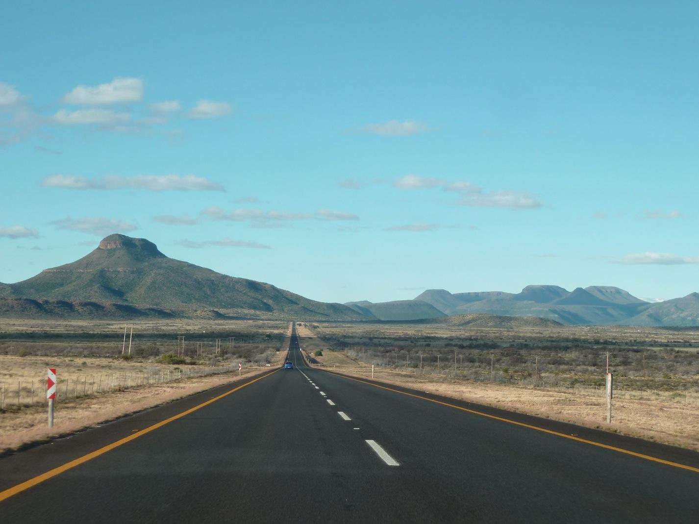 En Road Trip Dans Le Karoo