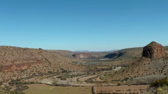 Près de Nieu Bethesda, dans le Karoo, Afrique du Sud