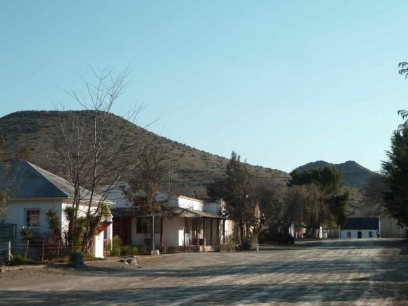 Le village de Nieu Bethesda (Karoo, Afrique du Sud)