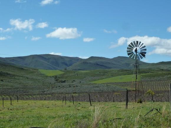 Sur la route 62 en Afrique du Sud