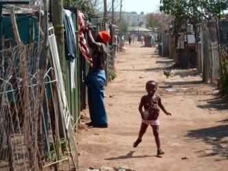 Une partie de Soweto plus pauvre