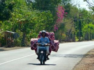 Sur la route entre Pemuteran et Gilimanuk, à Bali.