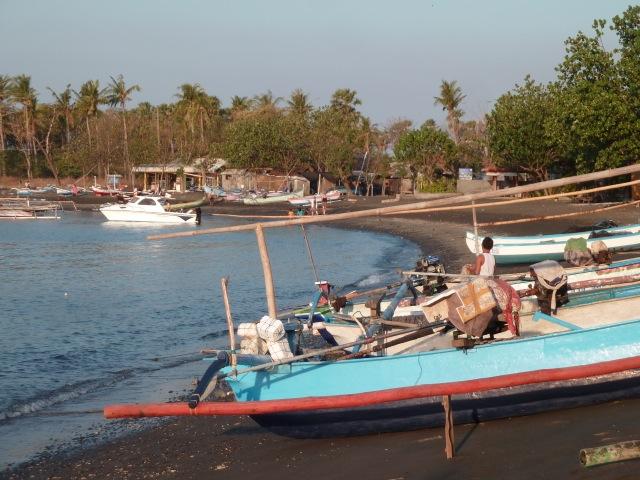 Le village de pêcheurs à Pemuteran