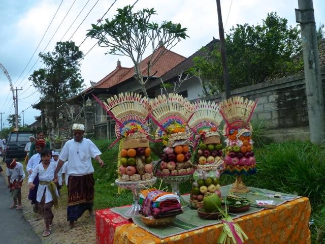 Entre Jatiluwih et Ubud, à Bali