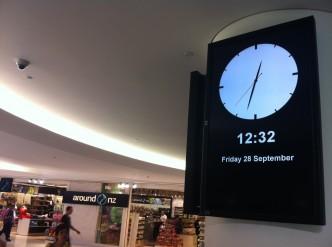 Aéroport d'Auckland le 28 septembre.