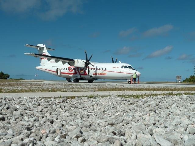 Aéroport de Maupiti.