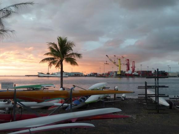Le 28 septembre à Papeete.
