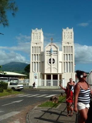 Eglise à Taravao.