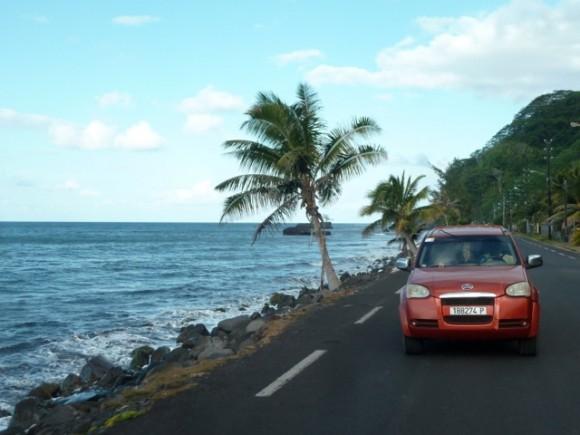 Côte est de Tahiti.