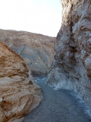Death Valley. Mosaic canyon.