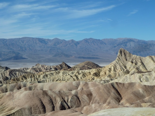 Death Valley. Zabriskie point.