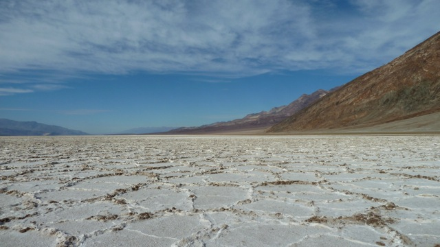 Death Valley. Badwater basin.