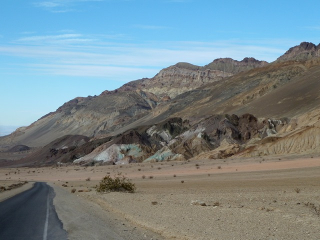 Death Valley. Artist's drive.
