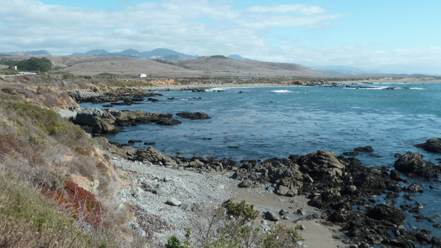 Piedras blancas colony, Highway 1.