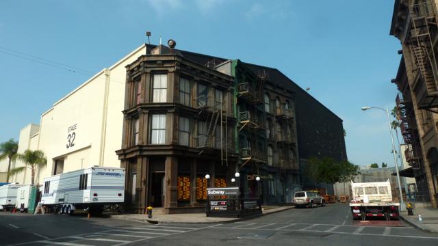 Décor de NYC à la Paramount.