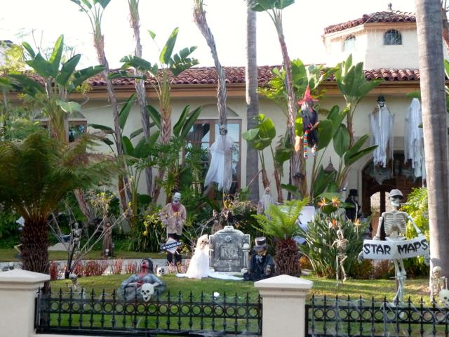 Halloween à Beverly Hills.