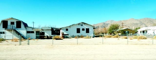 Maisons à Trona.