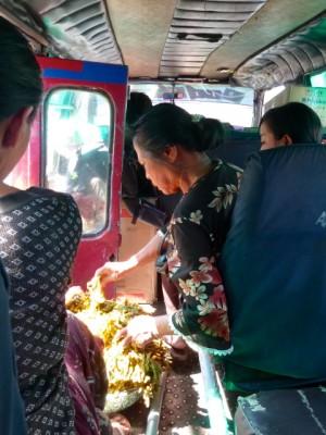 En route vers Pemuteran, à Bali.