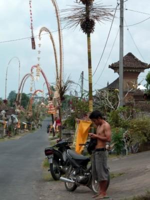 Dans un village, près d'Ubud.