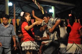 Fête pour un mariage à Koh Muk, Thaïlande.