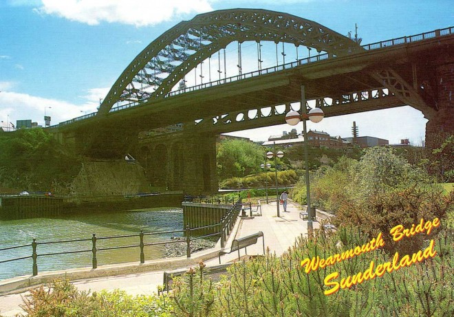 Le Wearmouth bridge à Sunderland.