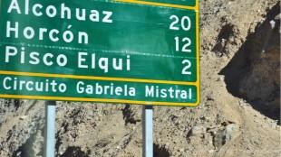 En route pour Pisco Elqui.