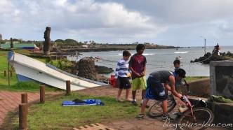 Hanga Roa, sur Rapa Nui.