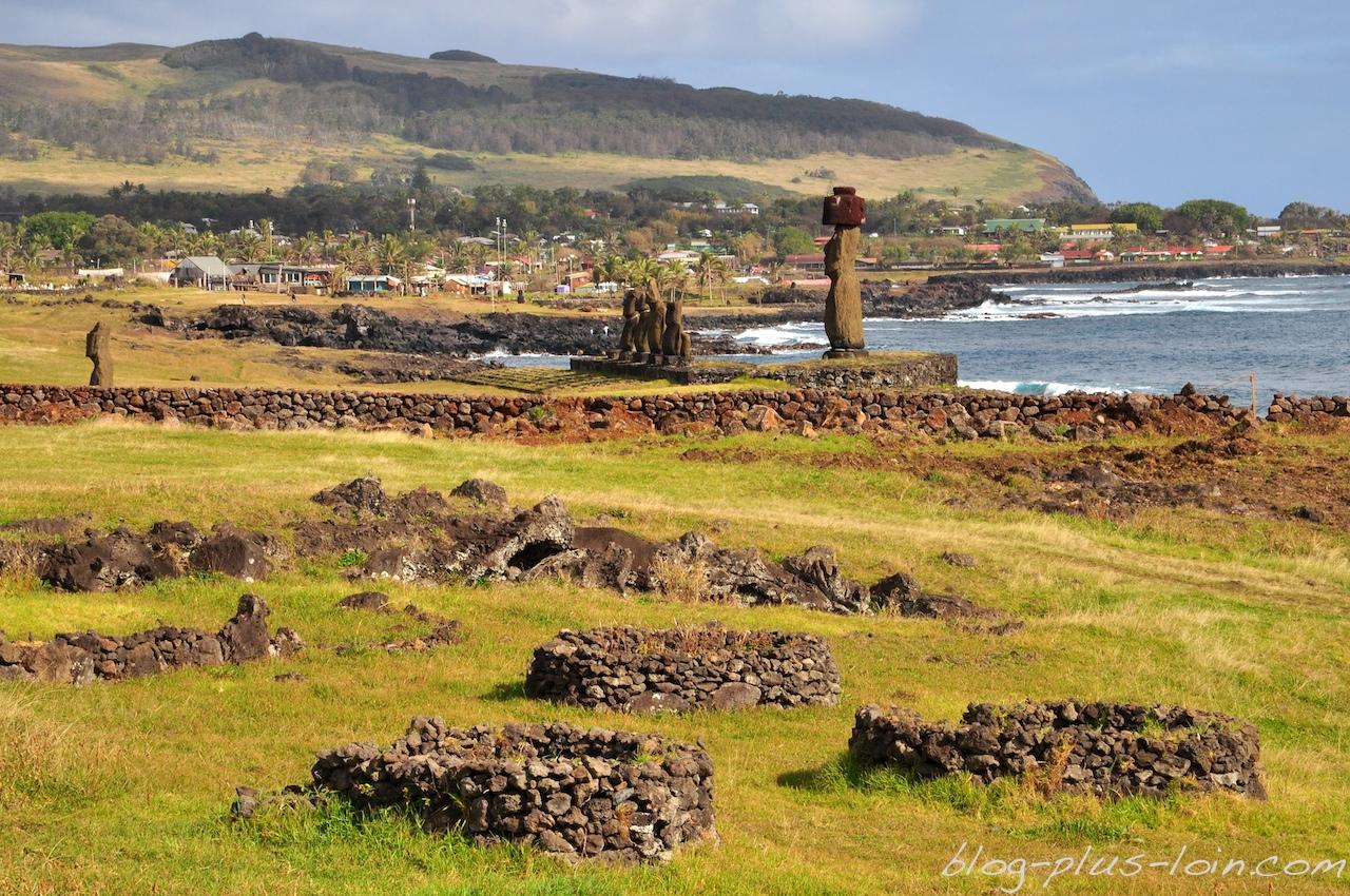 Le secteur de Tahai, à Rapa Nui.