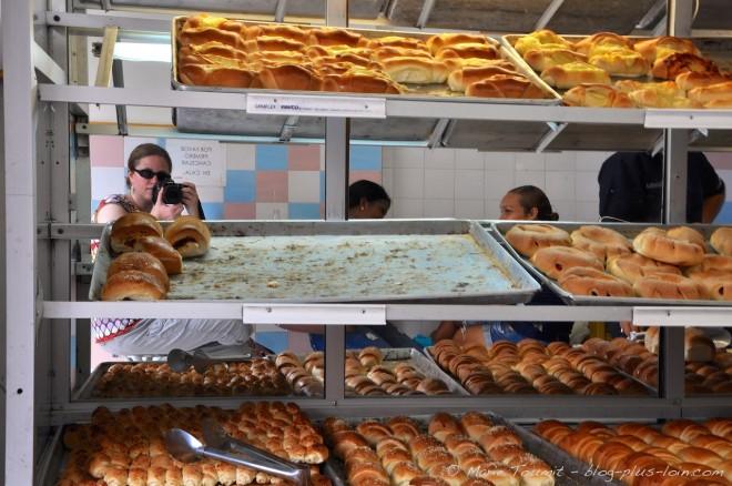 Autoportrait au pain. A Carthagène.