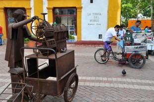 Carthagène. Colombie. En face de San Pedro Claver.