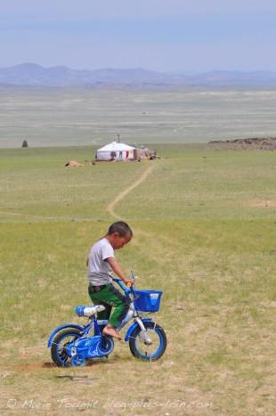 Mongolie : dans la région du Gobi