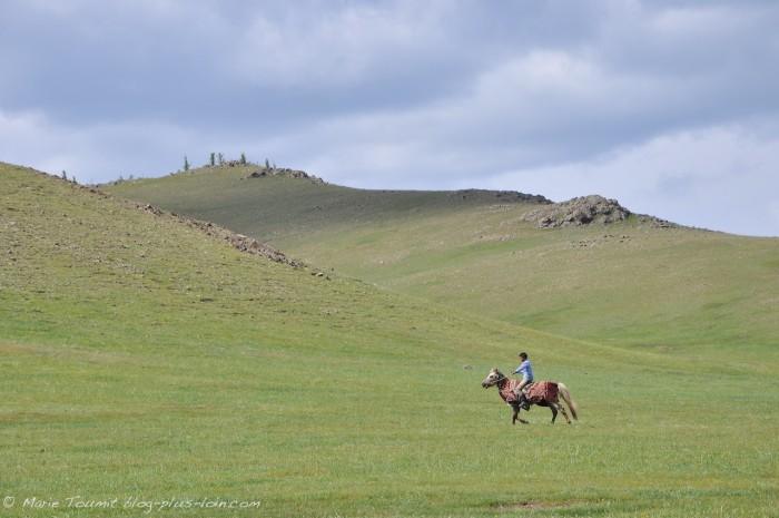 Mongolie : dans la région du Khangaï