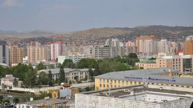 Mongolie : Oulan Bator.