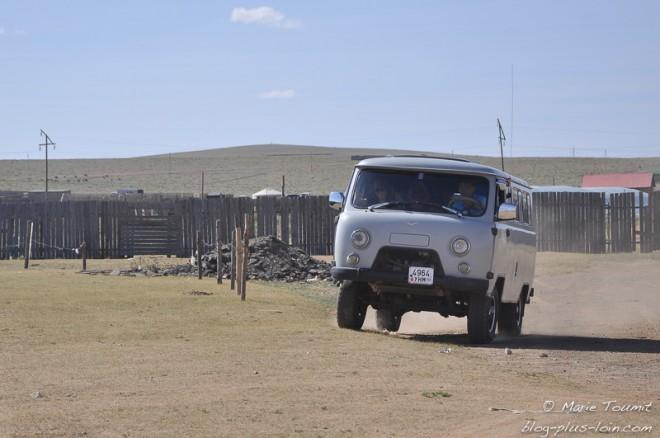Mongolie, l'UAZ roule partout.